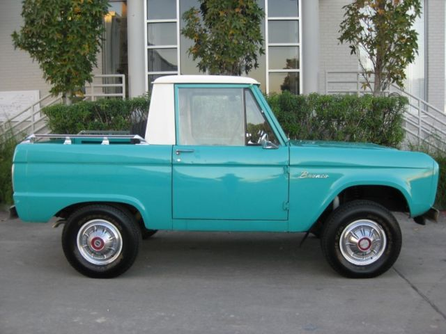 1966 Ford Bronco Half Cab Early