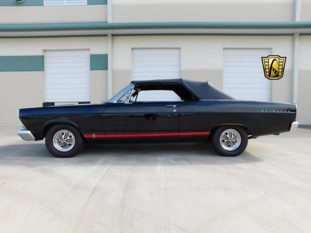 1966 Ford Fairlane GT 71045 Miles Black Convertible 390 CID FE V8 4 Speed Manual