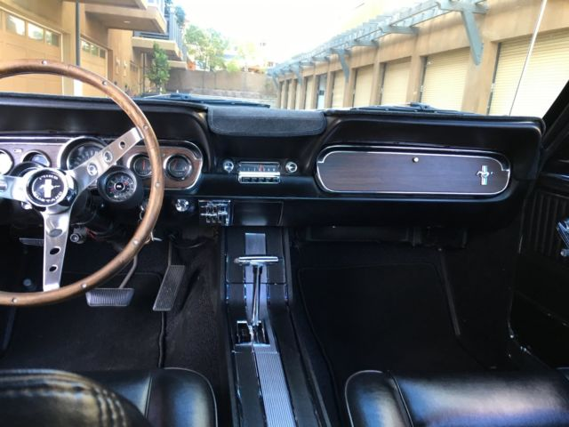 1966 Ford Mustang Fastback 2 2 Pony Interior