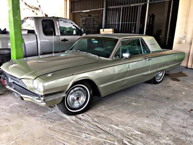 1966 Fors Thunderbird Great For Resell Original Engine And Interior