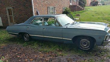 1967 Chevrolet Impala 4-Door Sedan Light Blue 109K Miles ...