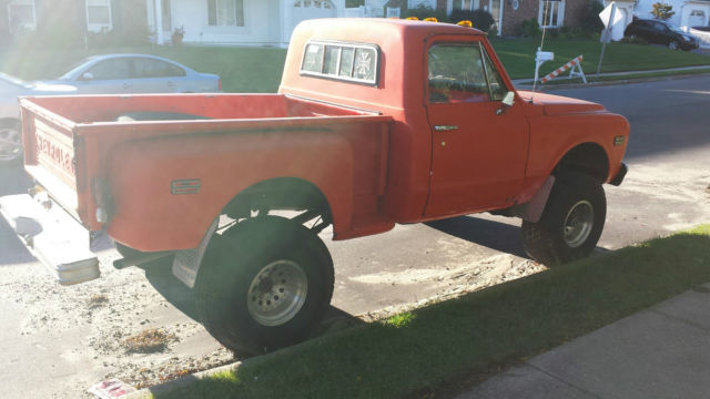 1967 Chevrolet K10 Short bed, stepside, 4x4