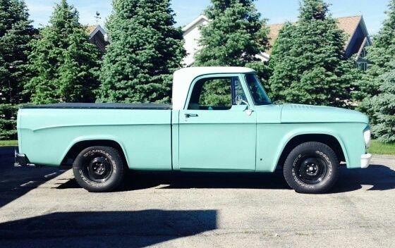 1967 Dodge D-100 pickup truck.