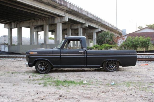 1967 F100 Bagged Air Ride Shop Truck Rat Rod Bodydropped
