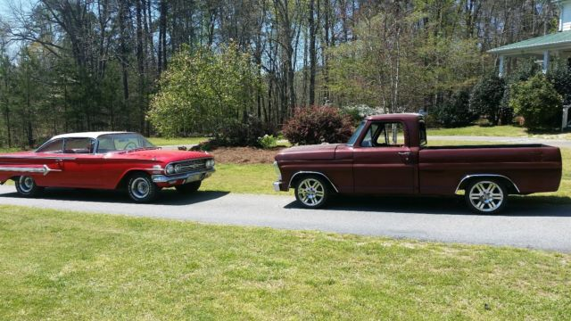 1967 Ford F100 SWB Custom Truck