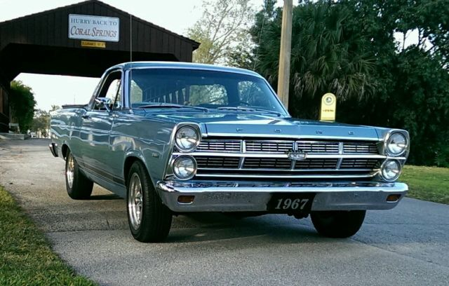 1967 Ford Fairlane Ranchero 500 XL 289 4 Speed