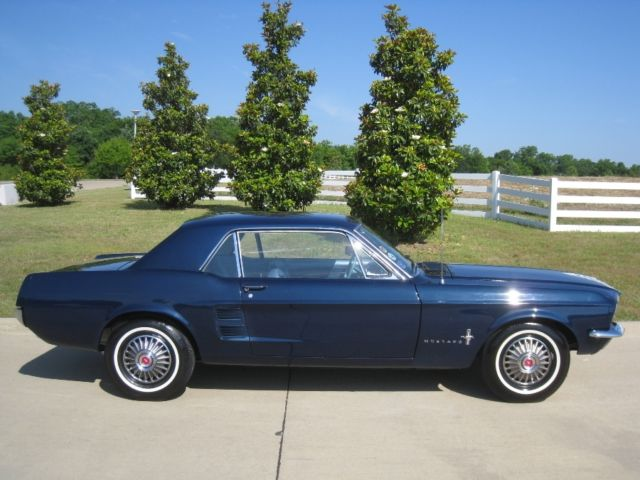 1967 ford mustang coupe 289 v8 auto w powersteering show car
