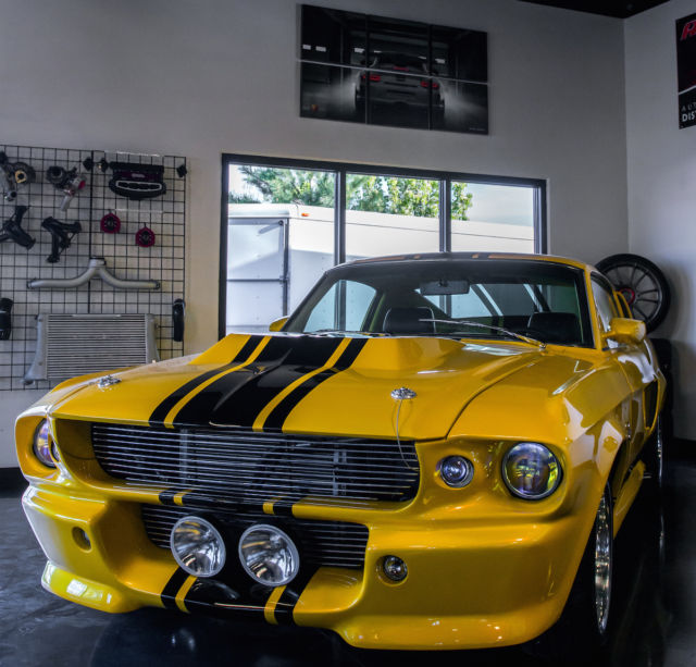 1967 Ford Mustang Custom GT 500 Eleanor Build 700hp 510 CU