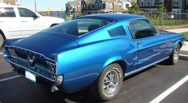 1967 Ford Mustang Fastback 289 4-Speed Acapulco Blue ...