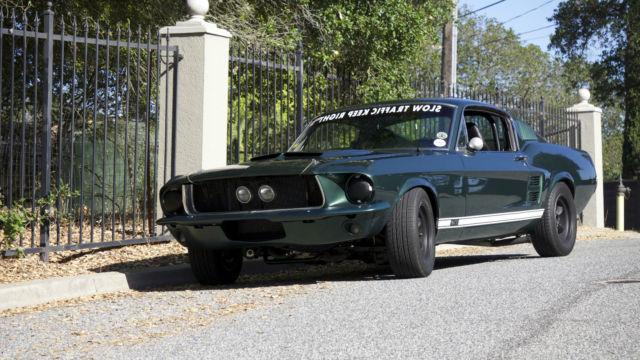 1967 Ford Mustang GT Fastback S Code 4spd Bullitt
