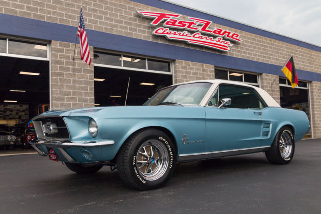 1967 Ford Mustang S Code Factory Air Conditioning Brittany