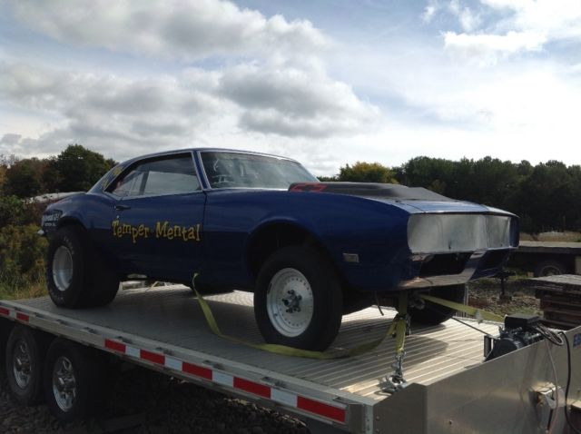 1968 Camaro Project For Sale >> 1968 Camaro drag car roller