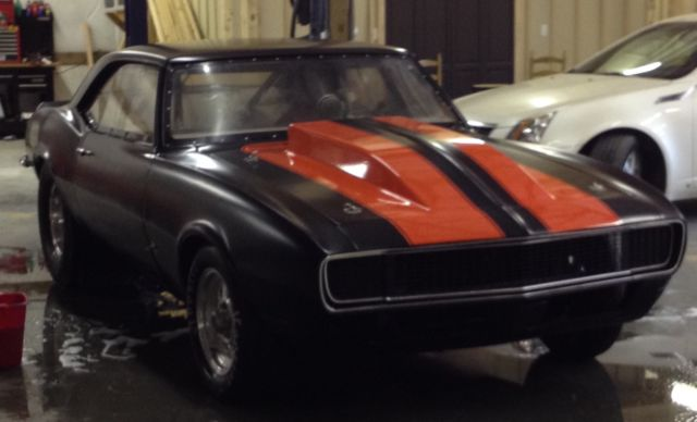 1968 Chevrolet Camaro Drag Car Rolling Chassis