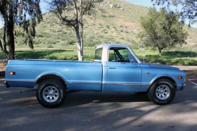 1968 Chevy Truck Blue And White