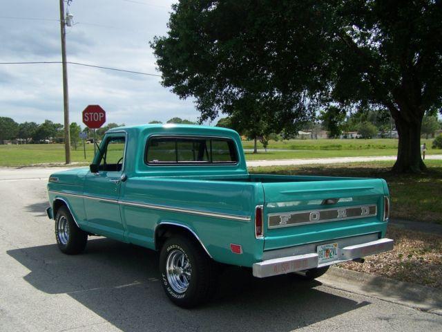 Palm Bay Ford >> 1968 FORD F100 SHORT BED PICKUP TRUCK - Frame off Restoration - Nice!