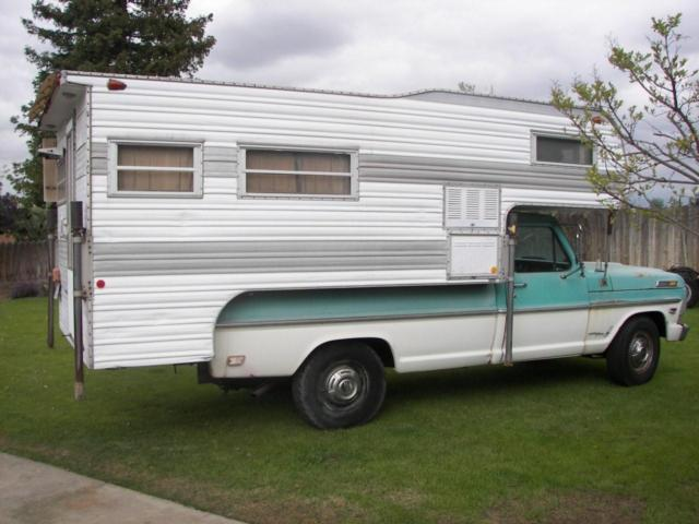 1968 Ford F250 Camper Special 390 Engine