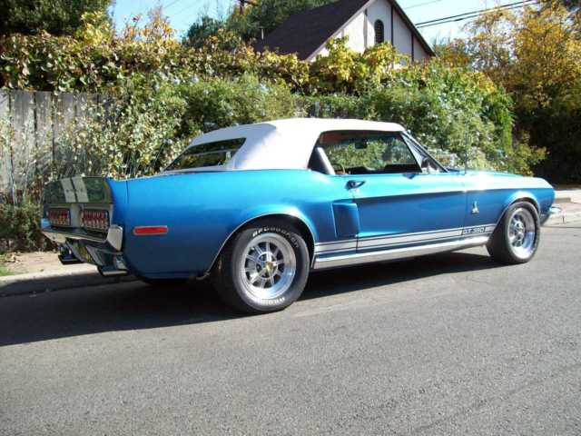 Ford Mustang Shelby Gt  Convertible Investment Quality Car Marti Report