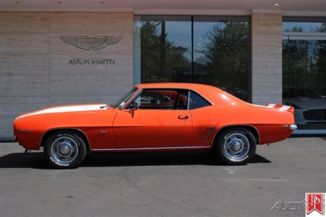 1969 Camaro Z28 Coupe 4 Speed Hugger Orange Very Correct