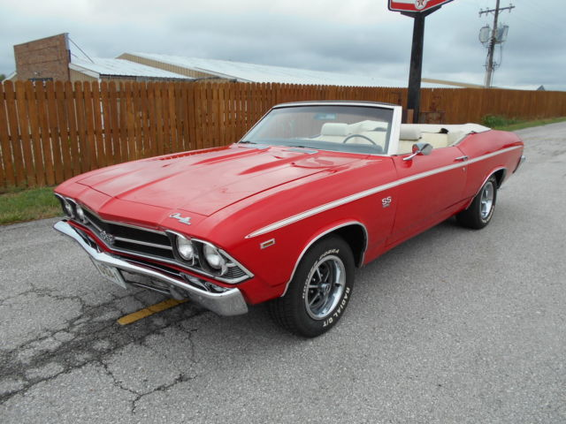 1969 Chevelle Convertible SS 396 4 Speed
