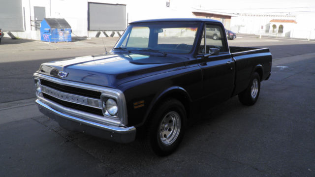 1969 chevy shortbed pickup truck