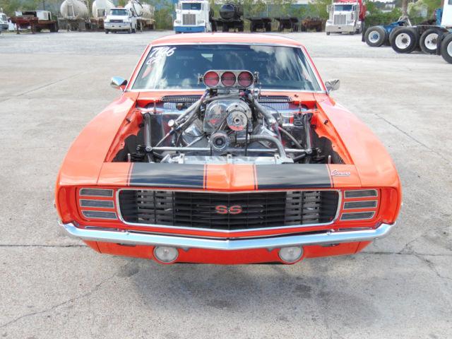 1969 Chevrolet Camaro Blown Pro Street Car