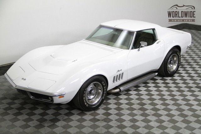 1969 chevrolet corvette stingray new 350 v8 4 speed - Corvette Stingray 1969 White