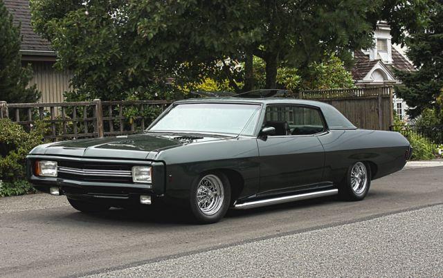 1969 Chevy Impala Caprice Custom Hot Rod Full Restoration