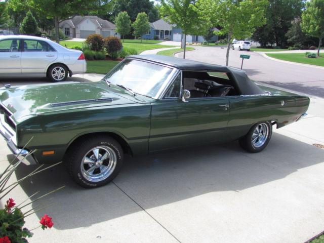 Used Dodge Dart >> 1969 DODGE DART GT 340 CONVERTIBLE W/ GTS BULGE HOOD AND BADGING! VERY CLEAN CAR