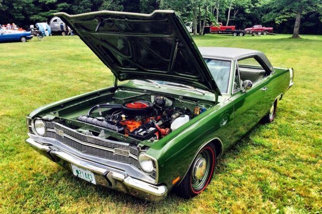 1969 Dodge Dart GTS Matching Numbers 383 4 speed