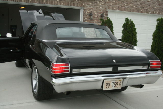 1969 pontiac beaumont convertible black on black. Cars Review. Best American Auto & Cars Review