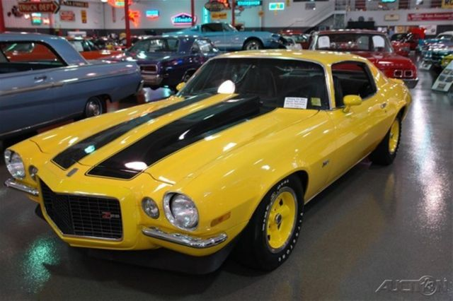 1970 CHEVROLET CAMARO Z28 YELLOW BLACK RALLY STRIPES 396 4 ...