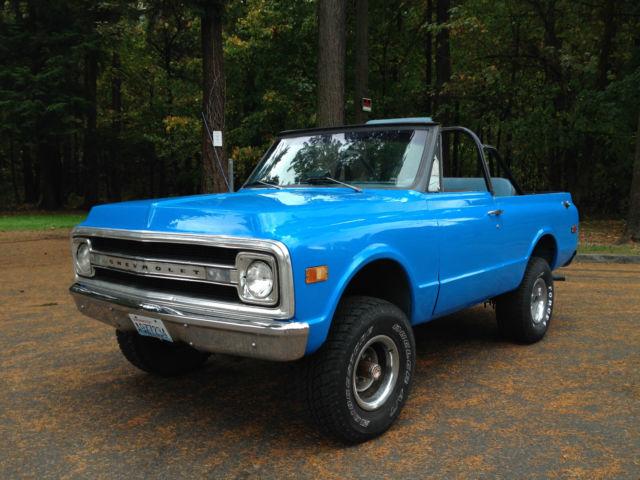 1970 Chevrolet K5 Blazer No Reserve Chevy 350 4x4 1969
