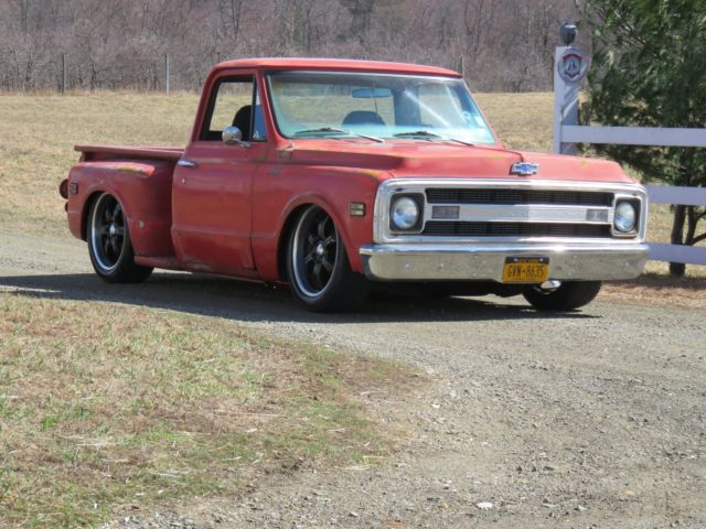 1970 Chevy C10 Rat Rod Stepside Shortbox Bagged Patina
