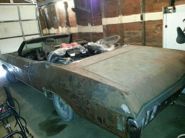 1970 chevy impala convertible project car sciox Images