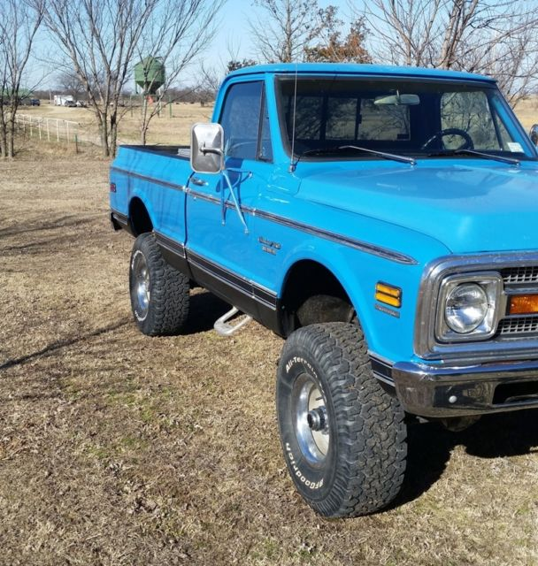 1970 Chevy K20 4X4 4 Wheel Drive SWB Short Wide Bed