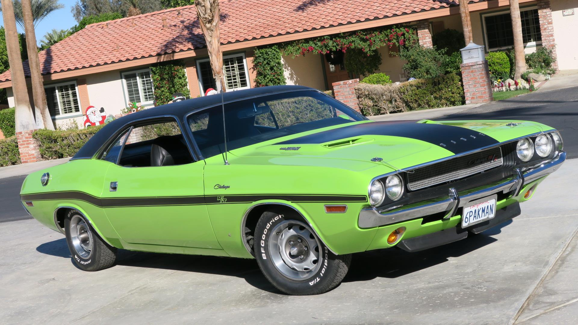 1970 Dodge Challenger R T 440 4 Speed U Code California