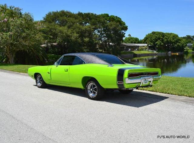 1970 Dodge Charger R/T 37,559 Miles Sublime Green Coupe