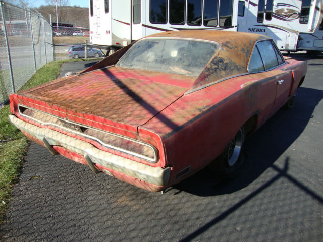 1970 Dodge Charger RT 440 South Carolina Barn Find
