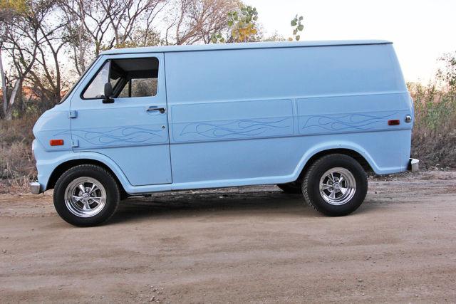 1970 ford econoline custom boogie van. Black Bedroom Furniture Sets. Home Design Ideas