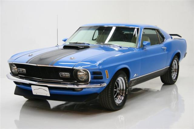 1970 Ford Mustang Mach 1 428CJ 4 speed Fully restored
