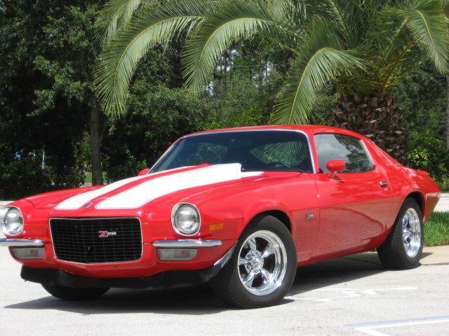 1971 Camaro Z28 Split Bumper