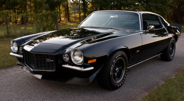 1971 Chevrolet Camaro Z28 Rs Split Bumper Stunning Drop