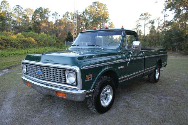 1971 Chevrolet Cheyenne C 10 Custom Sport Truck C10 Pickup