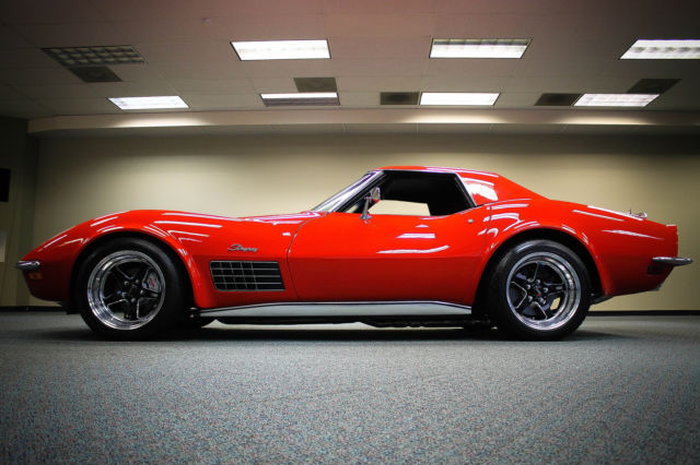 1971 Corvette Stingray Convertible Pro Touring Fresh Build