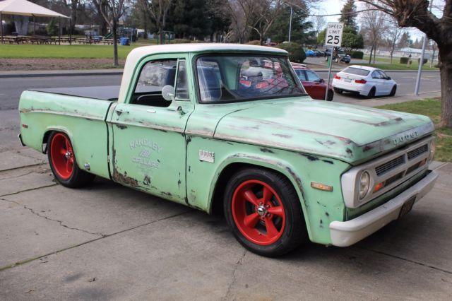 Look Up Vin Number >> 1971 Dodge D100 Sweptline, Shop Truck, Patina, Rat Rod