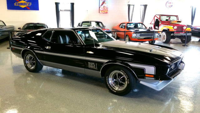 1971 Ford Mustang Mach 1 Complete Restoration Ram Air