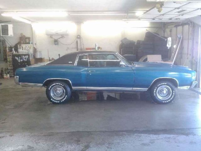 1971 Monte Carlo Ss 454 Buckets And Council Electric Windows Ac Build Sheet