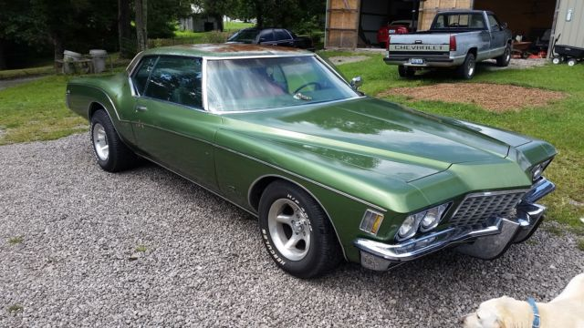1972 Buick Riviera GSboat Tail With A 455400 TurboAC