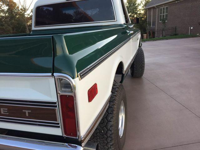1972 Chevrolet Chevy C10 K10 truck custom deluxe 4x4 short bed