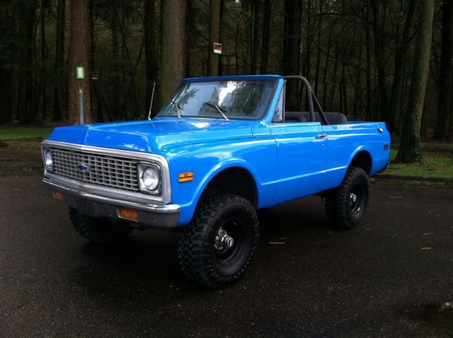 1972 Chevrolet K5 Blazer Manual 4x4 Chevy 350 1969
